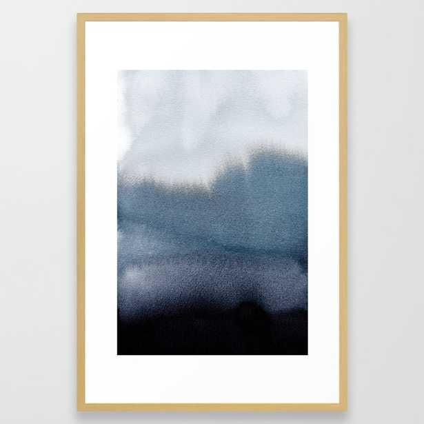 In Blue Framed Art Print by Georgianaparaschiv - Society6