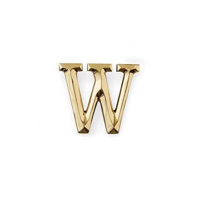 Letter Monogram Door Knocker - Wayfair