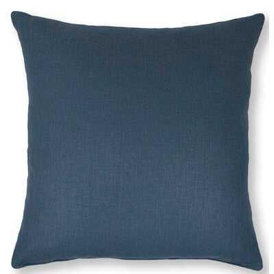 Breakwater Bay Ambler 22-inch Solid Blue Pillow - Wayfair