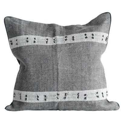 Joellen Woven Cotton Throw Pillow - AllModern