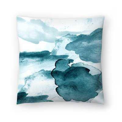 I Dream Blue Throw Pillow - Wayfair