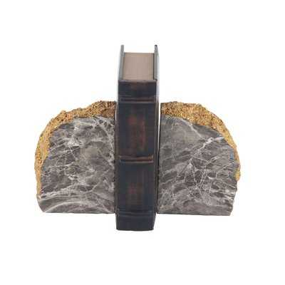 Rustic Domed Rock Bookends - Birch Lane