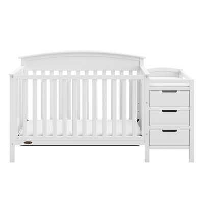 Graco Benton 4-in-1 Convertible Crib and Changer - Birch Lane