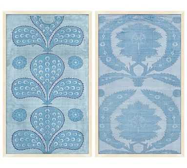 Blue Tapestry - Set of 2 - Pottery Barn