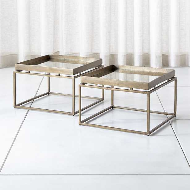 Echo Bunching Table, Set of 2 - Crate and Barrel