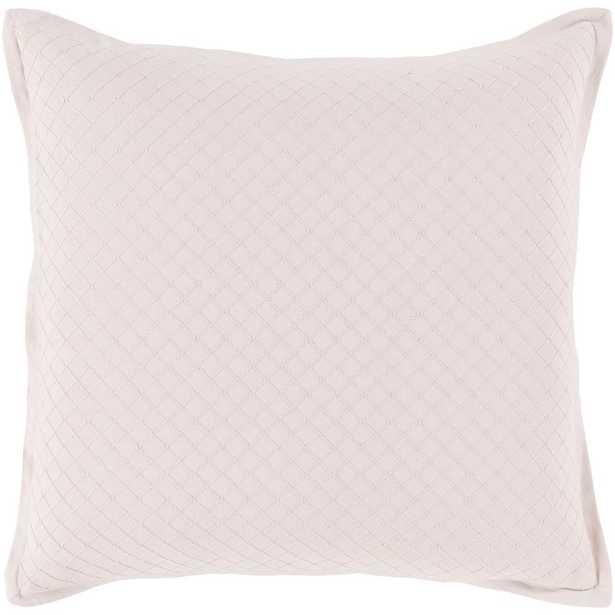 Ferlan Poly Euro Pillow, Pink - Home Depot