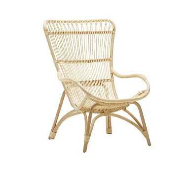 Sika Design Monet Rattan Chair, Natural - Pottery Barn