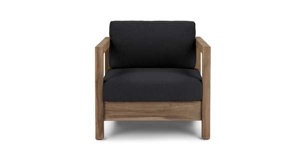 Arca Vintage Brown Lounge Chair - Article