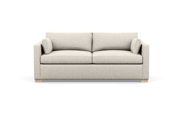 Charly Sofa with Wheat Fabric and Natural Oak legs - Interior Define