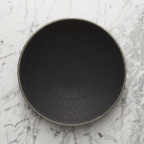 Jars Tourron Black Dinner Plate - Crate and Barrel
