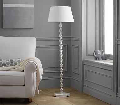 Stacked Crystal Floor Lamp - Pottery Barn Kids