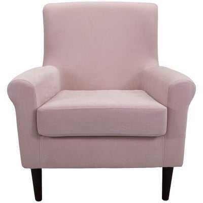 Ronald Armchair - Blush pink - Wayfair