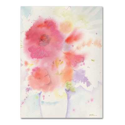 """The White Vase"""" by Sheila Golden Painting Print on Wrapped Canvas - Wayfair"""