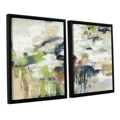 Highline View 2 Piece Framed Painting Print on Canvas Set - Wayfair