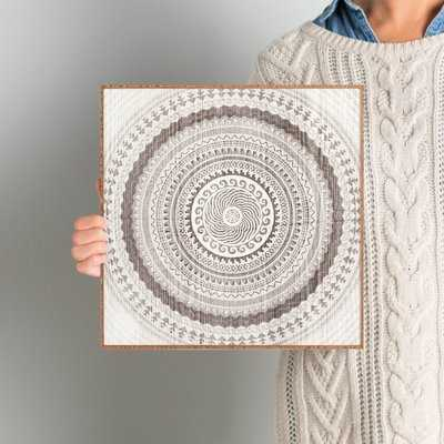 'Winter Wheat' Framed Graphic Art - Wayfair