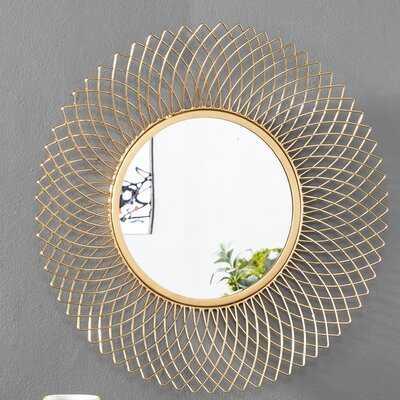Henninger Metal Glam Accent Mirror - Wayfair