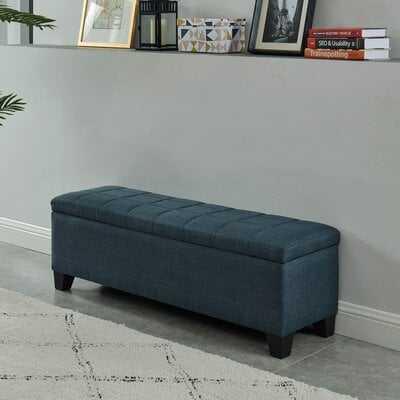 Lizzie Upholstered Storage Bench - Wayfair