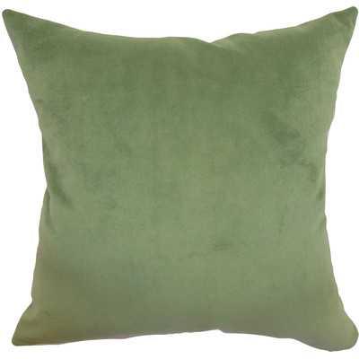Generys Plain Velvet Throw Pillow - Wayfair