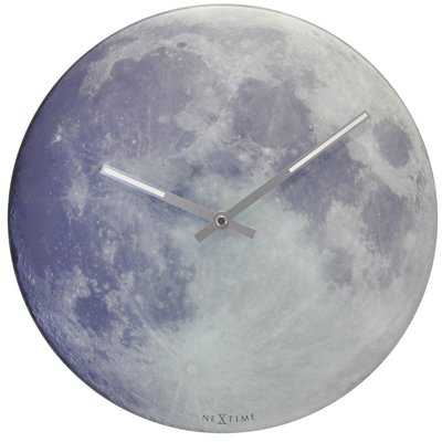 """Wisdom Moon 11.8"""" Wall Clock - Wayfair"""