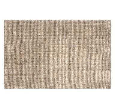 Chunky Natural Wool & Jute Rug, 3 x 5', Natural - Pottery Barn