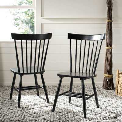 Spindle Solid Wood Windsor Back Side Chair (Set of 2) - Birch Lane