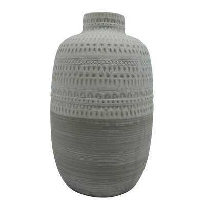 Carlile Ceramic Tribal Table Vase - Wayfair