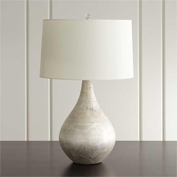Mulino Teardrop Table Lamp, Set of 2 - Crate and Barrel