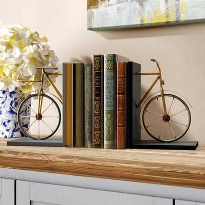 Bicycle Bookends - Birch Lane