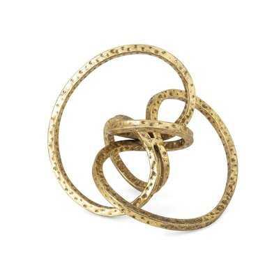 Desouza Metal Knot Decor - Wayfair