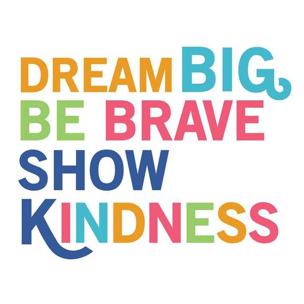 WallPOPs Dream Big Wall Quote Decal, Multi-Colored - Home Depot