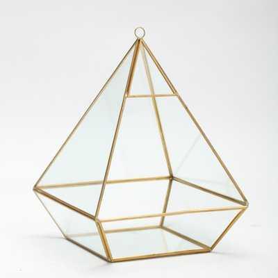 Mangels Geometric Pyramid Terrarium Display - Wayfair
