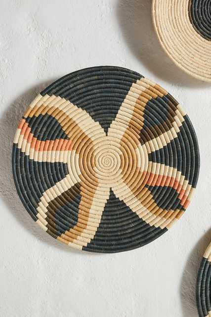 Peach Hanging Basket - Anthropologie