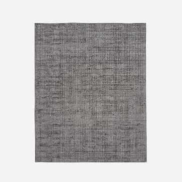 Patina Rug, Asphalt, 8'x10' - West Elm