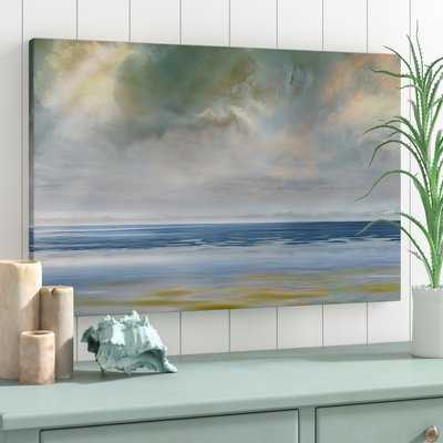 'Reflection of Light' Painting Print on Wrapped Canvas - Wayfair