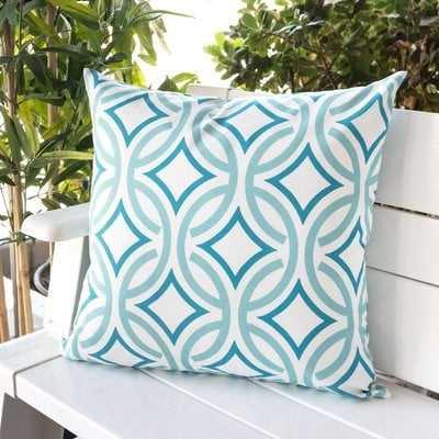 Buddy Circles Outdoor Throw Pillow - Wayfair