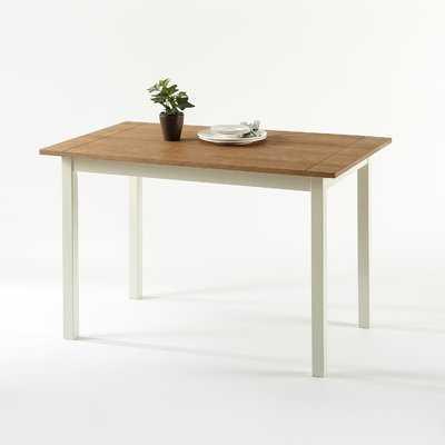 Reagan Wood Dining Table - Wayfair