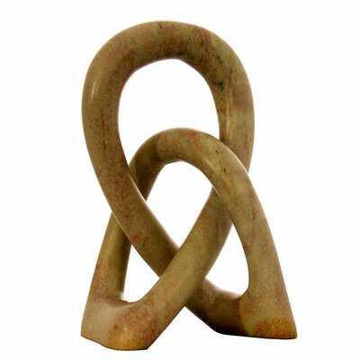 Glengarry Nzuri - Natural Love Knot Sculpture - Wayfair