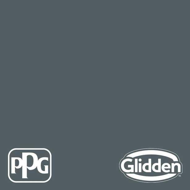Glidden Premium 8 oz. PPG1037-6 Mysterious Eggshell Interior Paint Sample - Home Depot