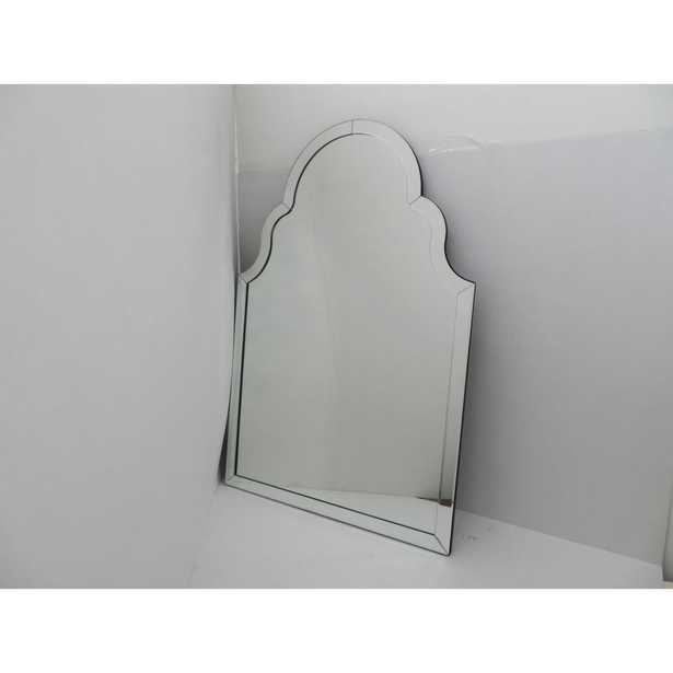 Wall Decor Frameless Arched Mirror - Home Depot