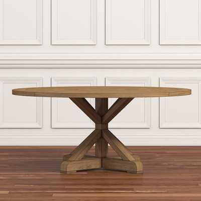 Peralta Round Rustic Dining Table - Wayfair