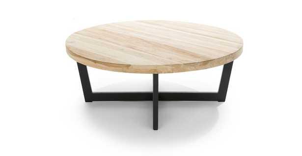 Toba Natural Teak Coffee Table - Article