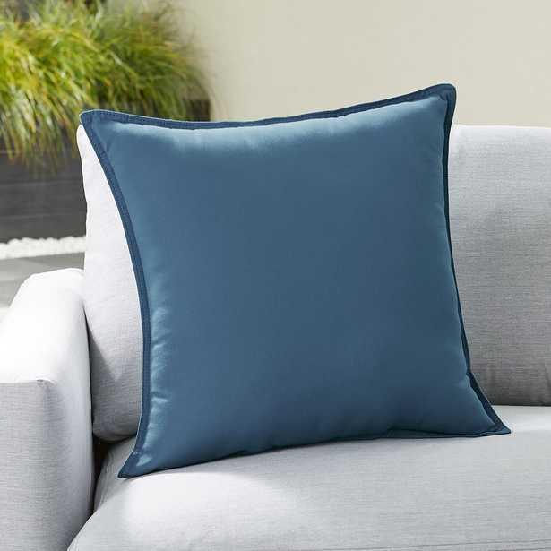"Sunbrella ® Sapphire 20"" Sq. Outdoor Pillow - Crate and Barrel"