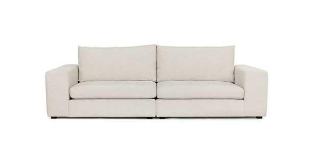 Gaba Pearl White Sofa - Article