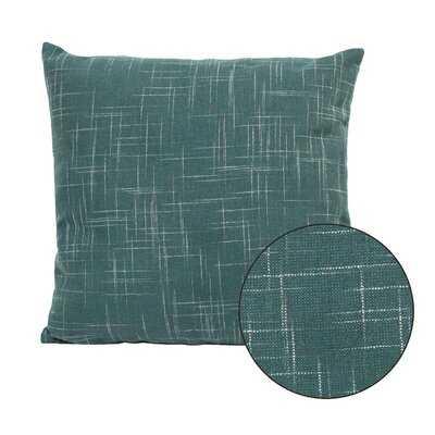 Teal Tweed Pillow - Wayfair