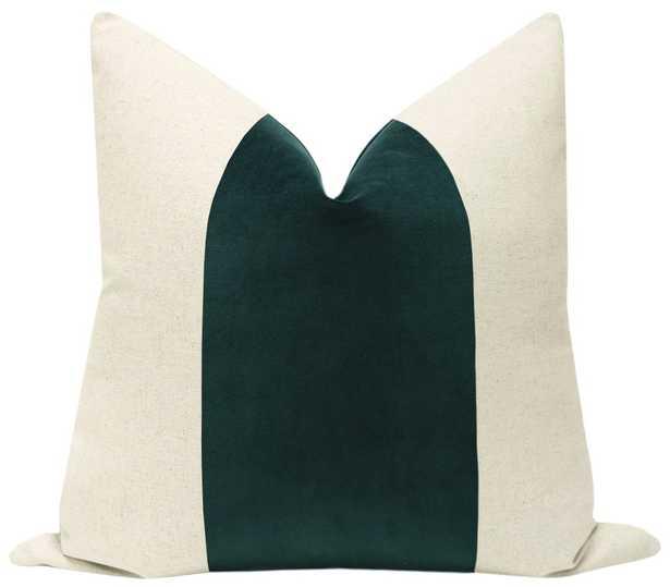"PANEL :: Classic Velvet // Emerald - 18"" X 18"" - Little Design Company"