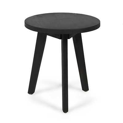 Humphries Outdoor Wooden Side Table - Wayfair