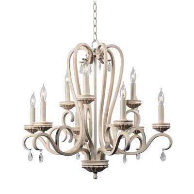 Khaled 9-Light Candle-Style Chandelier - Wayfair