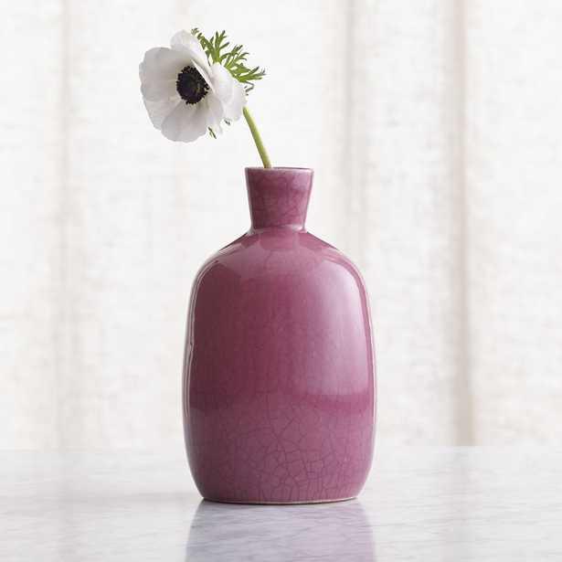 Mireya Pink Vase - Crate and Barrel