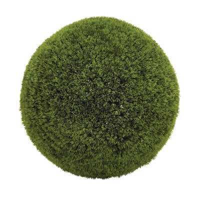 Faux Grass Boxwood Topiary - Wayfair