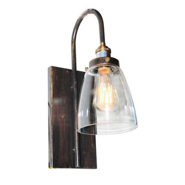 ARTCRAFT 1-Light Bronze and Copper Sconce - Home Depot